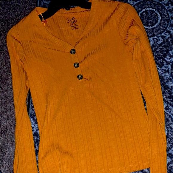 Long sleeve thin shirt